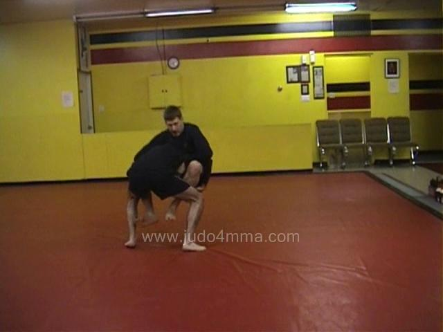 Click for a video showing a Judo for MMA technique called Tawara Gaeshi for MMA - Rice Bag Reversal for MMA